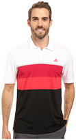 adidas CLIMACOOL® Engineered Stripe Polo