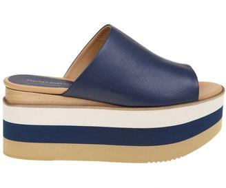Paloma Barceló blue Leather Sandal