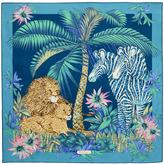 Salvatore Ferragamo African Safari Print Scarf