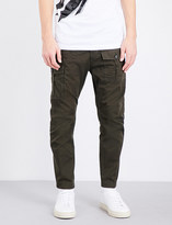 DSQUARED2 Slim-fit tapered cotton cargo trousers