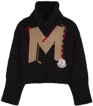 Moncler Logo Chunky-knit Jumper