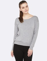 Oxford Gianna Metallic Boatneck Knit