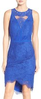 Adelyn Rae Women's Lace High/low Sheath Dress