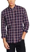 True Religion True Religion, uk apparel, TRV92 Men's Triple Needle Workwear Casual Shirt