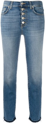 7 For All Mankind The Crop Straight Leg jeans