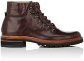 Harris Men's Leather Hiking Boots-BROWN