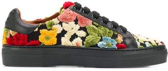 Etro floral lace-up sneakers