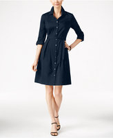 Charter Club Fit & Flare Shirtdress, Only at Macy's