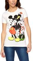 Logoshirt V Disney - Minnie & Mickey Logo Women's T-Shirt