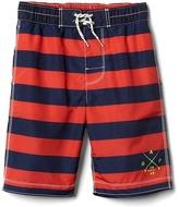 Gap Logo stripe board shorts