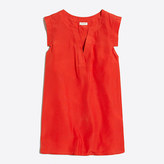 J.Crew Factory V-neck band-sleeve shell top