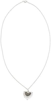 Monica Rich Kosann Heart Locket sapphire necklace