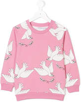 Mini Rodini dove print sweatshirt