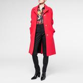 Paul Smith Women's Coral Textured Wool Overcoat