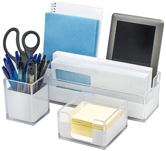 Sorbus Acrylic Desk Organizers 3-Piece Set