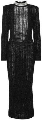 Balmain Crystal-embellished dress