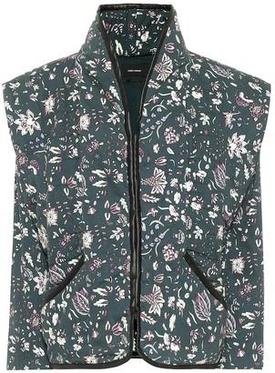 Isabel Marant Anissaya floral cotton jacket