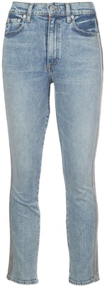 Alice + Olivia Good high-rise jeans