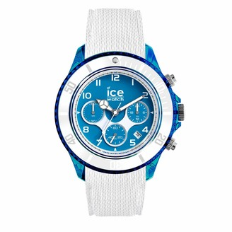 Ice Watch Ice-Watch - ICE dune Superman blue - Men's wristwatch with silicon strap - Chrono - 014224 (Extra large)