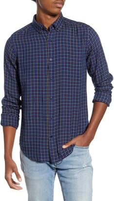 Scotch & Soda Plaid Flannel Button-Down Shirt