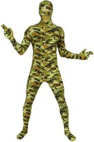 Morphsuits Premium Commando L, Green/Orange/Brown