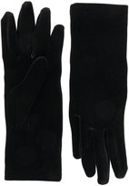 Balenciaga - gants en velours