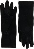 Balenciaga velvet gloves - women - Polyester/Spandex/Elastane - M