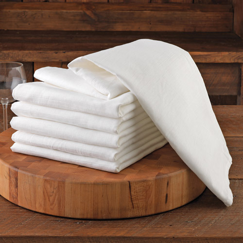 Chefs Flour Sack DishTowels, Set of 6