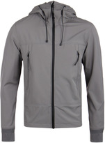 Cp Company Pewter Grey Soft Shell Goggle Jacket