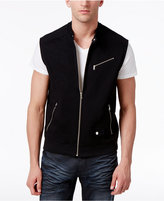 INC International Concepts Men's Zippered Moto Vest, Only at Macy's