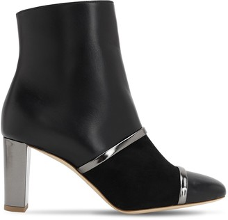 Malone Souliers 70mm Dakota Nappa & Patent Leather Boots