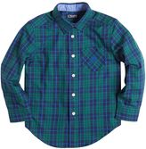 Chaps Toddler Boy Long Sleeve Woven Plaid Button-Down Shirt