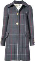 Miu Miu checked coat