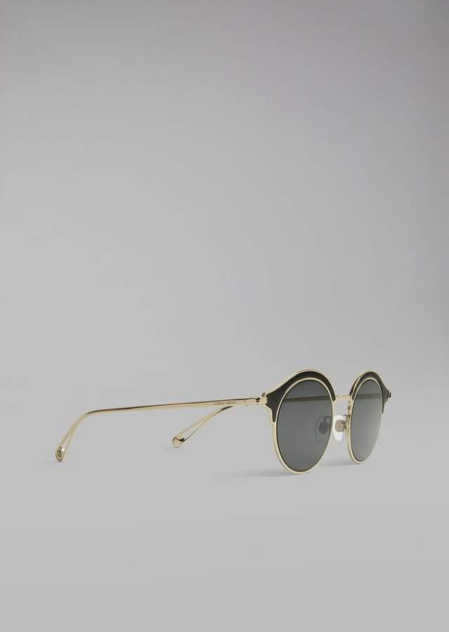 Giorgio Armani Sunglasses With Double Frame
