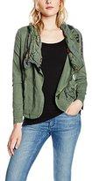Desigual Women's Jacket Green Grün (NEW GREEN 4096)