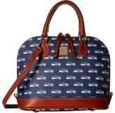 Dooney & Bourke NFL Zip Zip Satchel Satchel Handbags