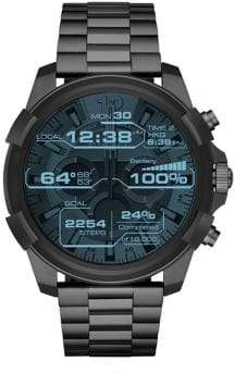 Diesel On Men's Touchscreen Smartwatch: Black IP