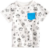 First Impressions Animal-Print Cotton T-Shirt, Baby Boys (0-24 months), Created for Macy's