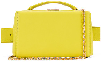 Mark Cross Grace Belt Bag in Citron | FWRD