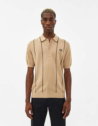 Fred Perry Vertical Stripe Knit Shirt