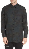 G Star Men's Stalt Long Sleeve Denim Shirt