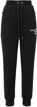 Dolce & Gabbana Logo Cotton Jersey Sweatpants