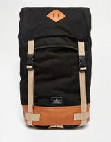 Asos Backpack With Contrast Trims
