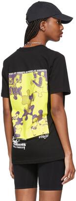 SSENSE WORKS SSENSE Exclusive Black Puzzle Subcultures T-Shirt