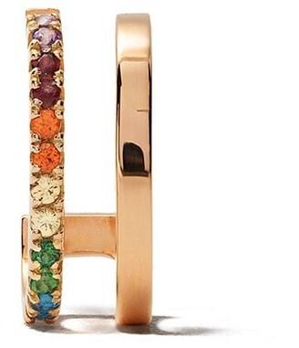 VANRYCKE 18kt rose gold Charlie sapphire earring