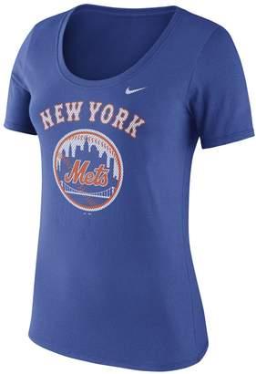 Nike Women's Royal New York Mets Core T-Shirt
