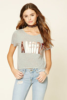 Forever 21 FOREVER 21+ Amore Graphic Tee