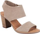 Toms Majorca Womens Cutout Sandals