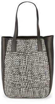 Derek Lam 10 Crosby Bond Woven Leather Tote Bag