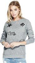 GUESS Sequin Patch Sweatshirt